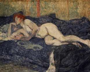 Reclining Nude — Анри де Тулуз-Лотрек
