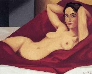 Reclining nude — Рене Магритт