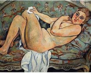 Reclining nude — Сюзанна Валадон