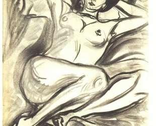 Reclining Nude (Isabella) — Эрнст Людвиг Кирхнер