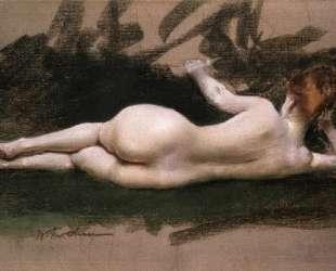 Reclining Nude — Поль Сезанн