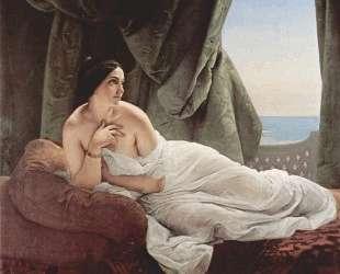Reclining odalisque — Франческо Хайес