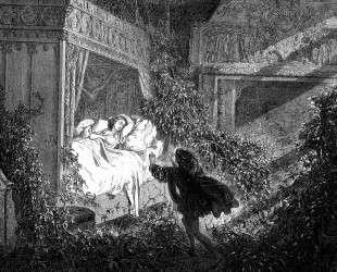 Спящая красавица — Гюстав Доре