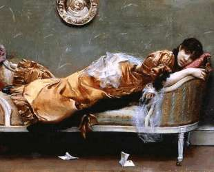 Reclining Woman — Юлиус Леблан Стюарт