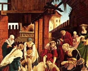 Нахождение тела св. Себастьяна — Альбрехт Альтдорфер