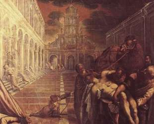 Recovery of the corpse of St. Mark — Тинторетто