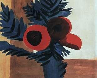 Red flowers — Мартирос Сарьян