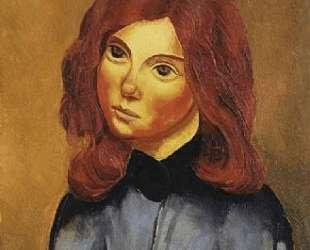 Рыжеволосая девушка — Моис Кислинг