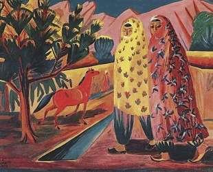 Red horse — Мартирос Сарьян