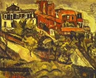 Red Houses — Хаим Сутин