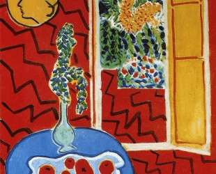 Red Interior. Still Life on a Blue Table — Анри Матисс