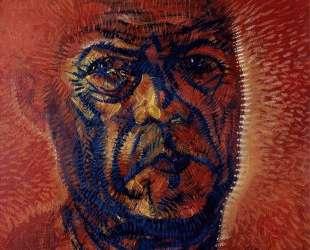 Red Self-Portrait — Рамон Овьедо