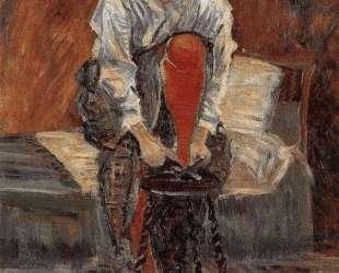 Red silk stockings — Поль Синьяк
