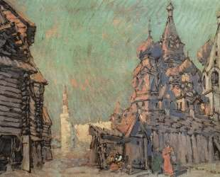 Красная площадь в Москве — Константин Коровин
