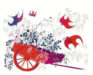 Red Wagon & Foliage — Эйвинд Эрл