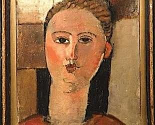 Рыжеволосая девушка — Амедео Модильяни