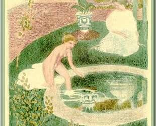 Reflection In A Fountain — Морис Дени