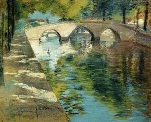 Reflections (aka Canal Scene) — Уильям Меррит Чейз