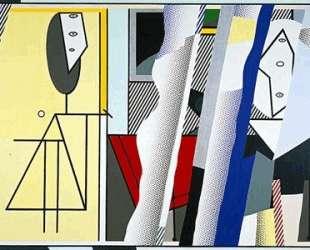 Размышления о студии художника — Рой Лихтенштейн