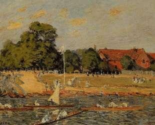 Regata at Hampton Court — Альфред Сислей