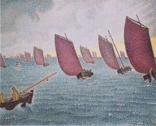 Regatta in Concarneau — Поль Синьяк