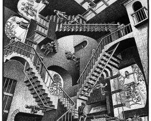 Relativity lattice — Мауриц Корнелис Эшер