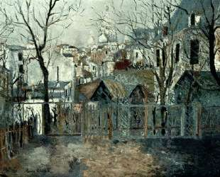 Renoir`s Garden — Морис Утрилло