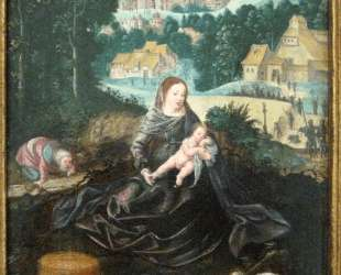 Rest of the Holy Family on the Flight into Egypt — Иоахим Патинир