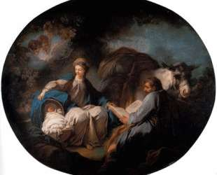 Rest on the Flight into Egypt — Жан-Оноре Фрагонар