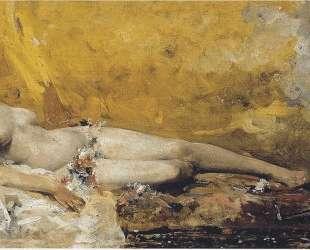 Resting Bacchante — Хоакин Соролья