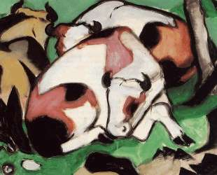 Resting Cows — Франц Марк