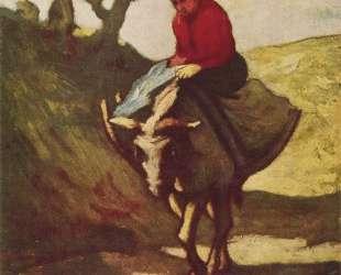 Возвращение с рынка — Оноре Домье