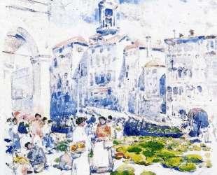 Rialto Market, Venice — Чайльд Гассам