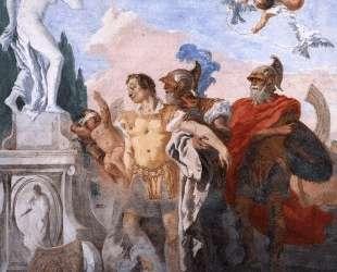 Rinaldo Leaving the Garden of Armida — Джованни Доменико Тьеполо