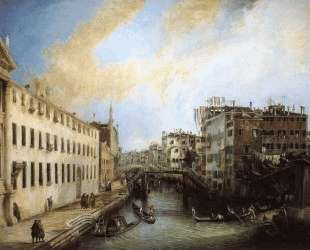 Rio dei Mendicanti — Каналетто