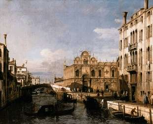 Rio dei Mendicanti and the Scuola di San Marco — Бернардо Беллотто