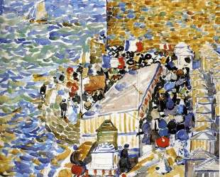 Rising Tide, St. Malo — Морис Прендергаст