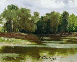 Берег реки — Илья Репин