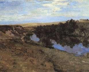 Речка в Меньшове — Константин Коровин