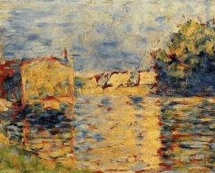 Берег реки — Жорж Сёра