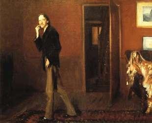 Robert Louis Stevenson and his wife — Джон Сингер Сарджент