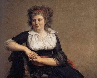 Робертина Турто, маркиза Д'Орвилье — Жак Луи Давид