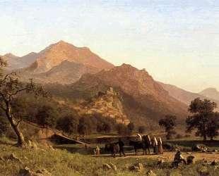 Rocca de Secca — Альберт Бирштадт