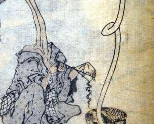 Rokurokubi — Кацусика Хокусай