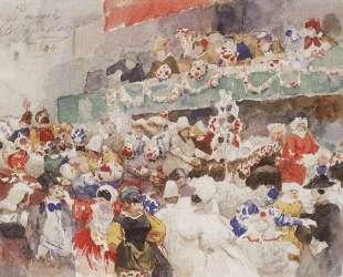 Римский карнавал — Василий Суриков