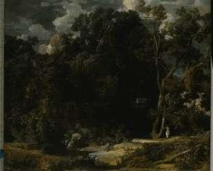 Roman Landscape — Арнольд Бёклин