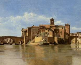 Рим. Базилика Константина — Камиль Коро
