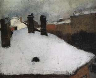 Крыши под снегом — Игорь Грабарь