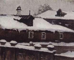 Крыши зимой — Василий Суриков