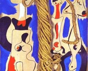 Rope and People I — Жоан Миро